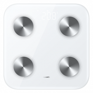 【新品上市】华为智能体脂秤3 雅致白 14项身体数据 对标DEXA金标准 WiFi&蓝牙双连接